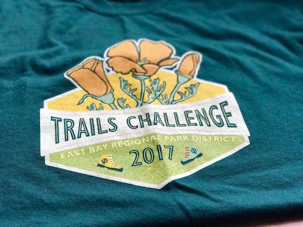 East Bay Regional Parks Trails Challenge 2017 - Villa Properties San Ramon Realtor